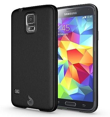 newest collection 89324 83bc2 Galaxy S5 Case, Diztronic Matte Back Flexible TPU Case [Rev. 2] for Samsung  Galaxy S5 - Matte Black - (GS5-DM-BLK-R)