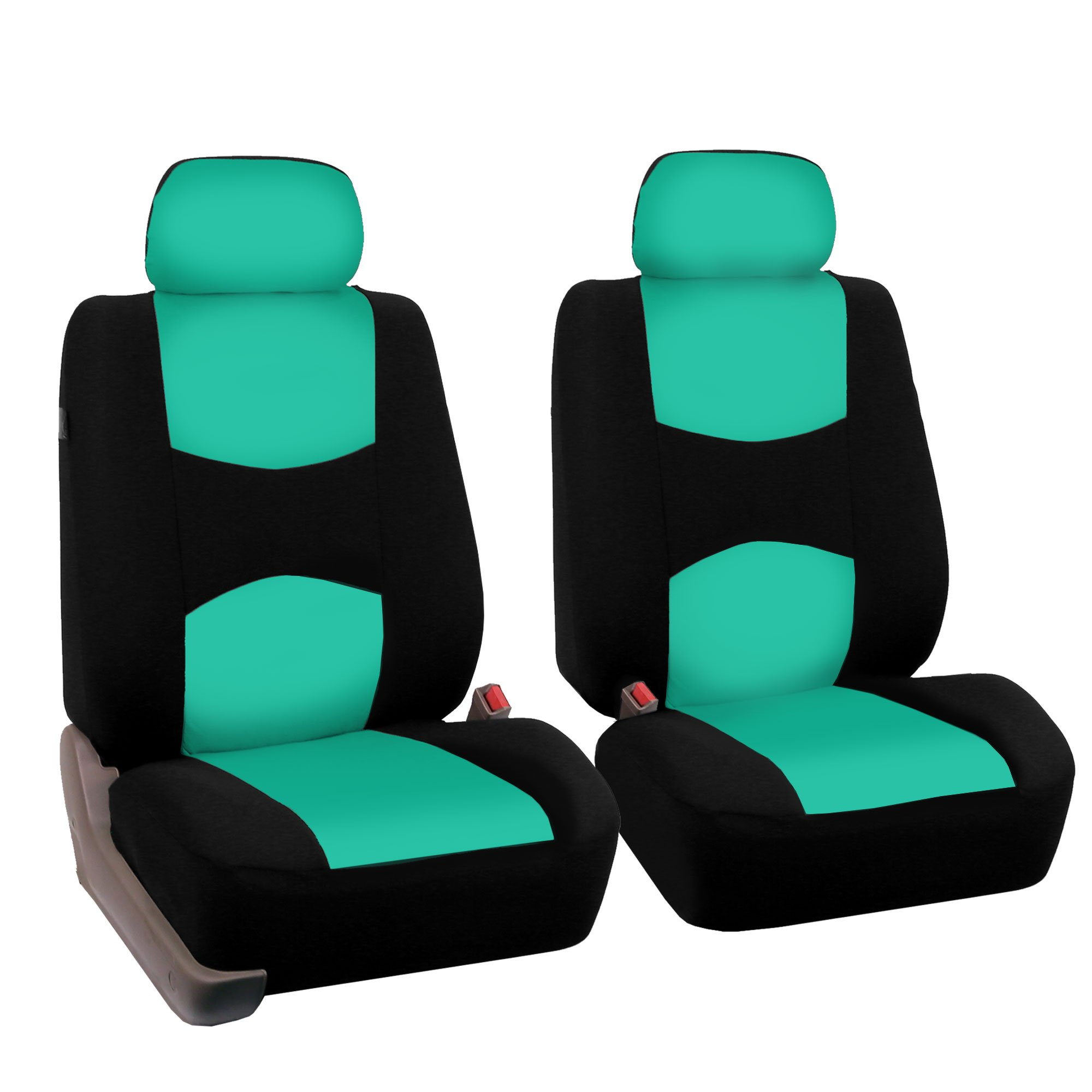 FH Group FB050MINT102 Mint Color Universal Fit Bucket Seat Cover by FH Group