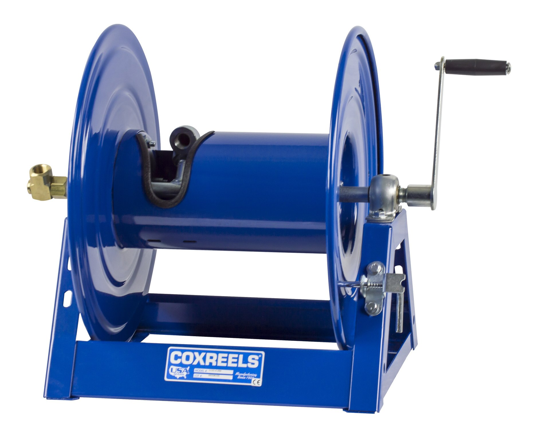 Coxreels 1125-4-100 Steel Hand Crank Hose Reel, 1/2'' Hose I.D., 100' Hose Capacity, 3,000 PSI, without Hose, Made in USA by Coxreels (Image #10)