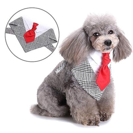 SELMAI Pañuelos para Perros Pequeños Bandanas Baberos Triángulo ...