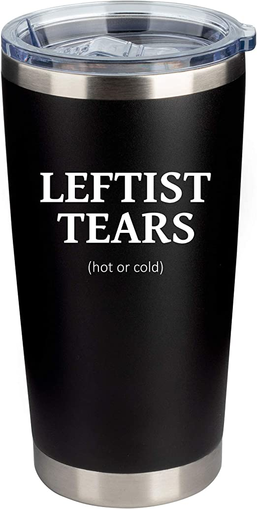 Liberal Tears American Flag Stainless Steel Tumbler