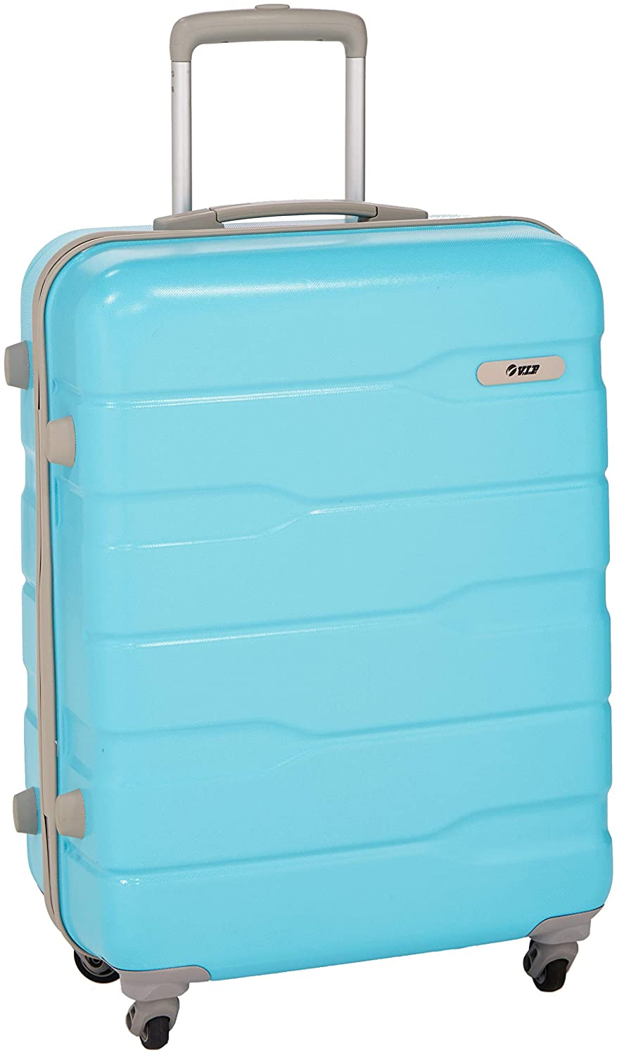 VIP Polycarbonate 55 cms Blue Hardsided Cabin Luggage (FERACT55OBL)