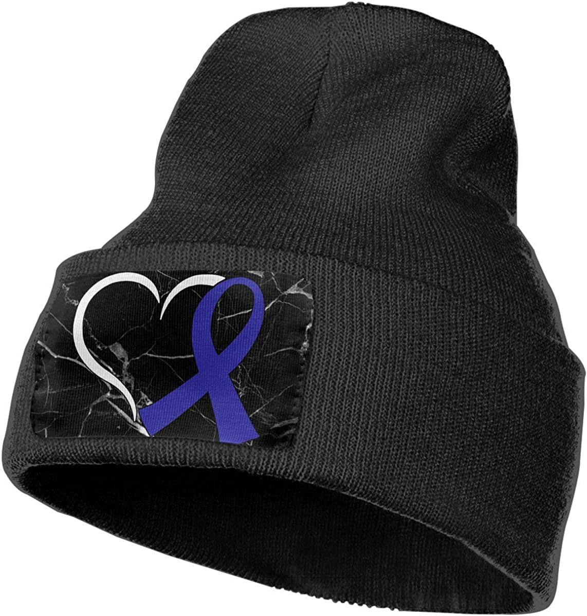 Heart Thyroid Cancer Awareness Beanie Cap Hat Men /& Women Knit Hats Stretchy /& Soft Beanie