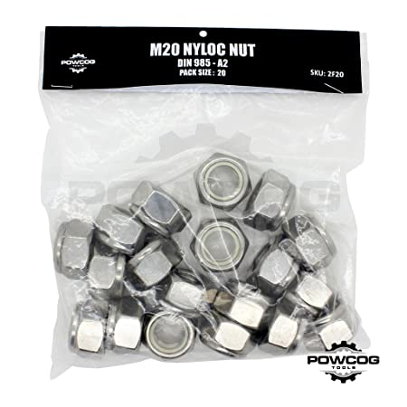 Metric Nuts A2 Stainless Steel