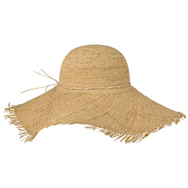 Lierys Raffia Straw XXL Brim Floppy Hat Beach (One Size - Nature ... 632f8b61c943