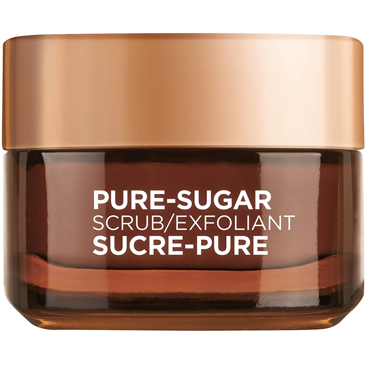 L'Oreal Paris Pure-Sugar Scrub with 3 Fine Sugars + Cocoa, Face & Lips, For Dry Skin, 50 ml L'Oreal Paris