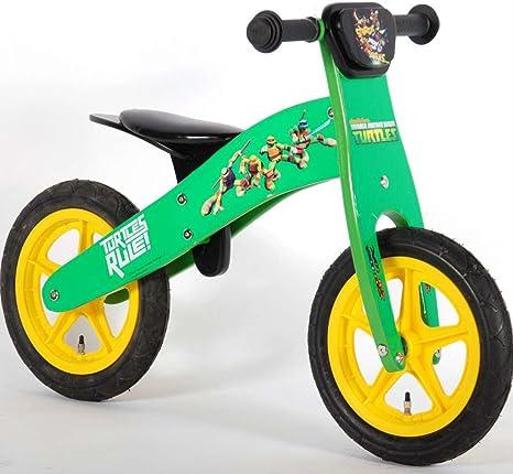 Bicicleta del bebé tortugas Ninja Turtles sin pedales de madera de ...
