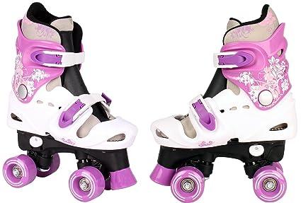 Patines de ruedas para niños, ajustables, Disco Roller, tallas 28 29 ...