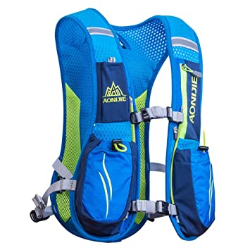 f677e56313 AONIJIE Running Backpacks Lightweight Hydration Pack Functional Running  Vest 5.5L