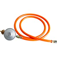 (Gasdruckminderer Gasschlauch Niederdruckregler) con 30 mbar (SET).
