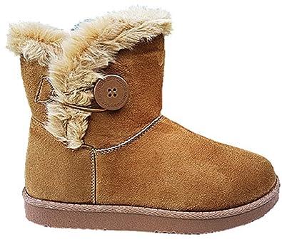 a32dceb5c12e5a BOTTINE fourrée femme botte fourrure neige hiver camel B785 (40 ...
