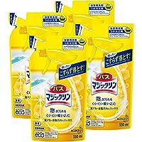 【まとめ買い】バスマジックリン 浴室洗剤 泡立ちスプレー 詰替用 330ml×4個