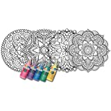 Zorbitz Joy of Coloring Stained Glass Window Art Kit