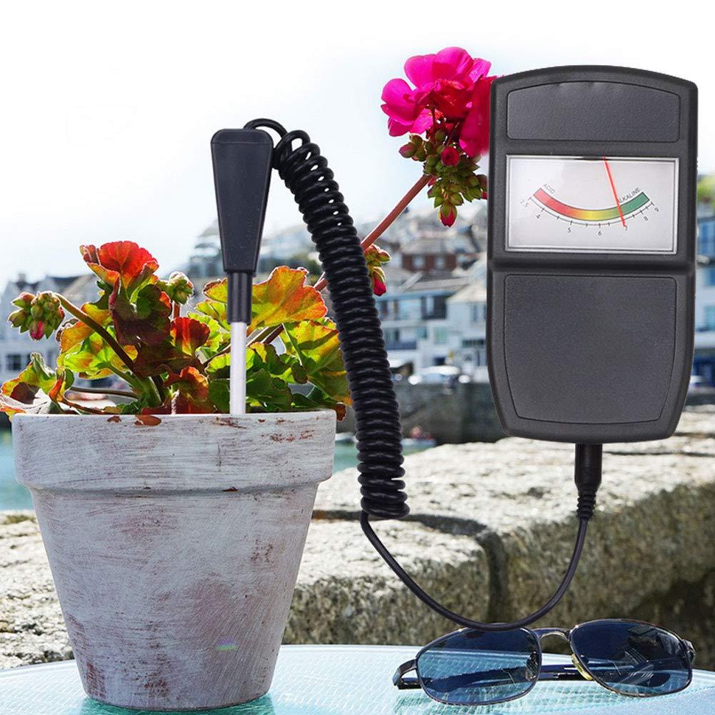 3 in 1 Bodentester PH S/äuretester Sonnenlichttester Hygrometer Bodenwassermonitor Indoor Outdoor Farm Lawn Gardening