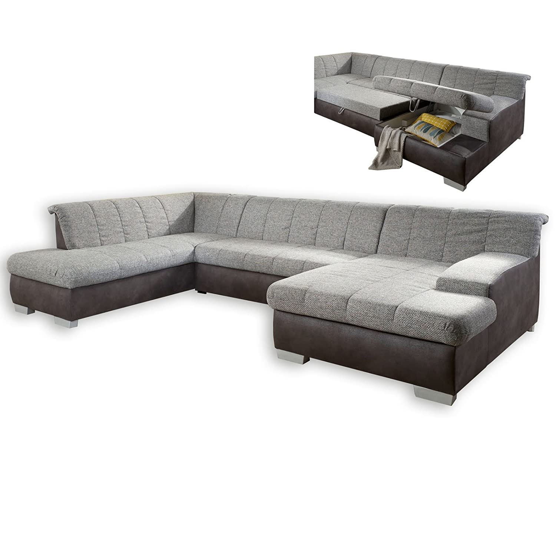 roller wohnlandschaft grau anthrazit mit funktionen. Black Bedroom Furniture Sets. Home Design Ideas
