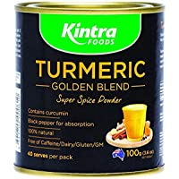 Kintra Foods Natural Turmeric Golden Blend Powder 100 g
