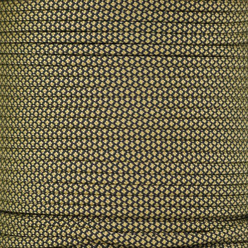 PARACORD PLANET 550 Cord Type III 7 Strand Paracord 250 Foot Spool - Gold Diamond ()