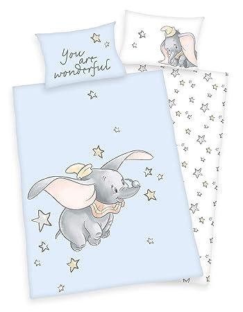 Disney K/önig der L/öwen Simba Mufasa Baby Bettw/äsche Kopfkissen Bettdecke 100/% Baumwolle 100x135 cm
