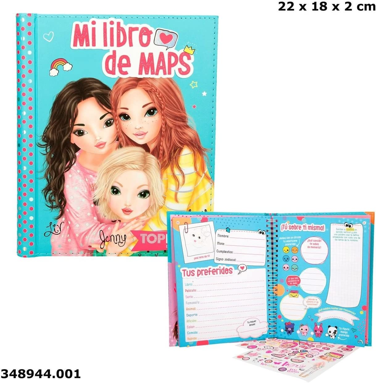 Top Model 348944-A - Libro: Amazon.es: Bebé