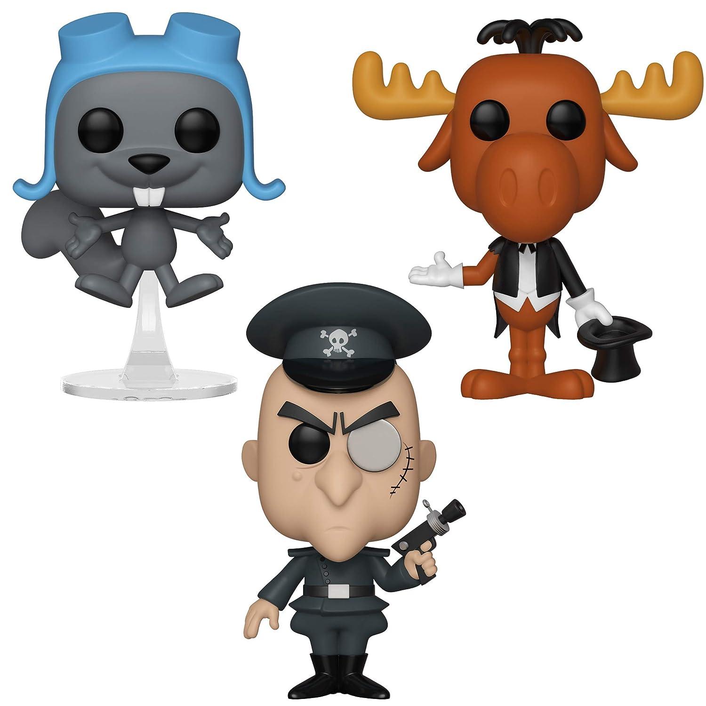 Amazoncom Funko 289 Animation Pop Rocky Bullwinkle Collectors