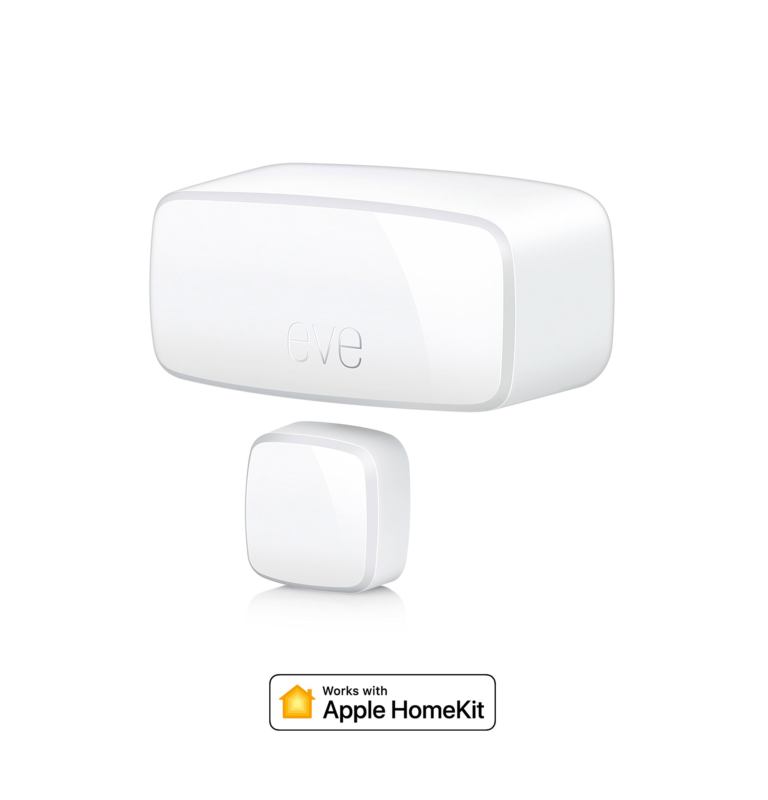Eve Door & Window - Sensor inalámbrico de contacto, Bluetooth Low Energy, non occorrono