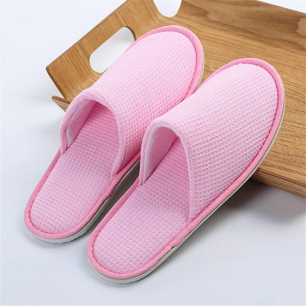 E 30 pairs SPA slippers Gaufres fermées Anti-dérapantes Pantoufles Adultes Anti-dérapantes Pantoufles jetables de Chambre d'hôtel de Spa