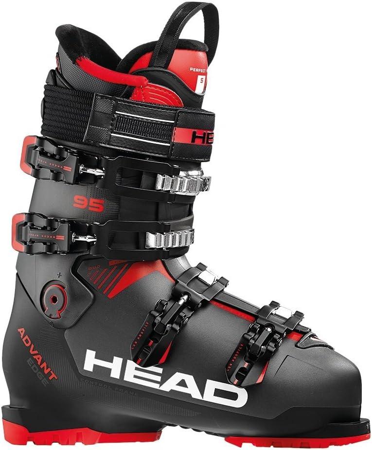 HEAD Advant Edge 95 スキーブーツ メンズ 11824 Anthracite/黒/赤 28.5 cm