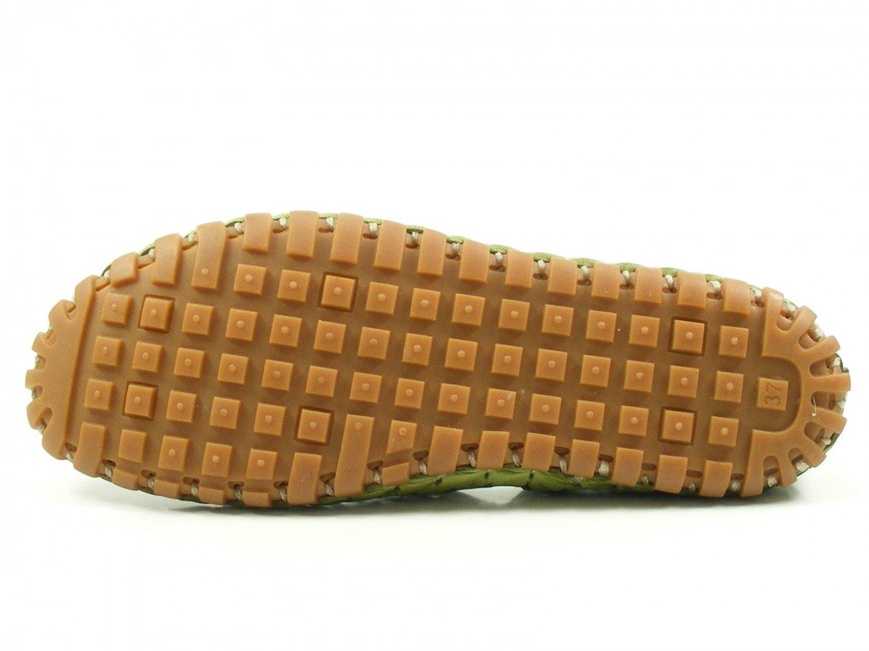 Gemini Damen Damen Gemini Schuhe Kali Leder 31200 Grün e5ab25