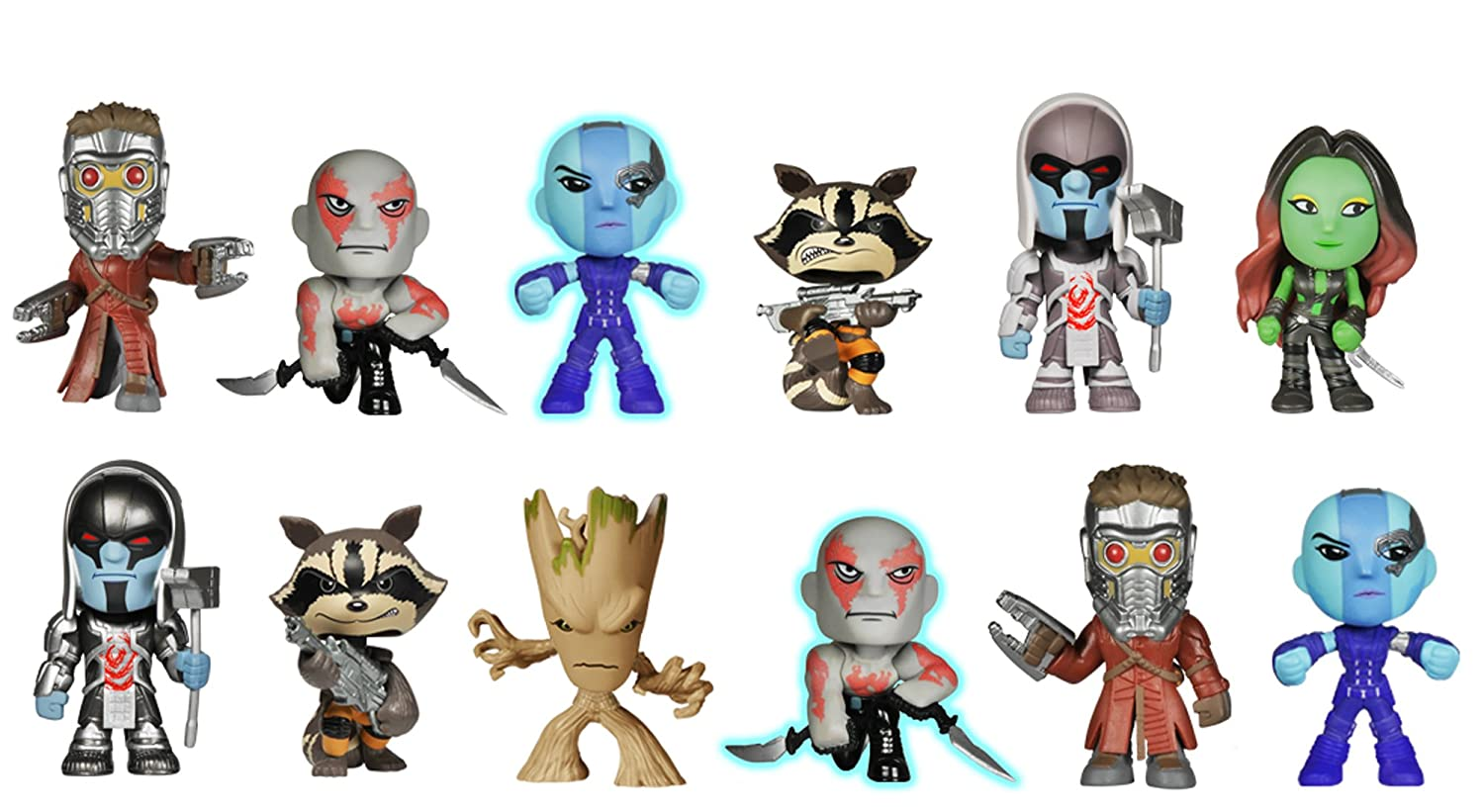 Funko: Guardians of of of the Galaxy: Mystery Minis 18d7dc
