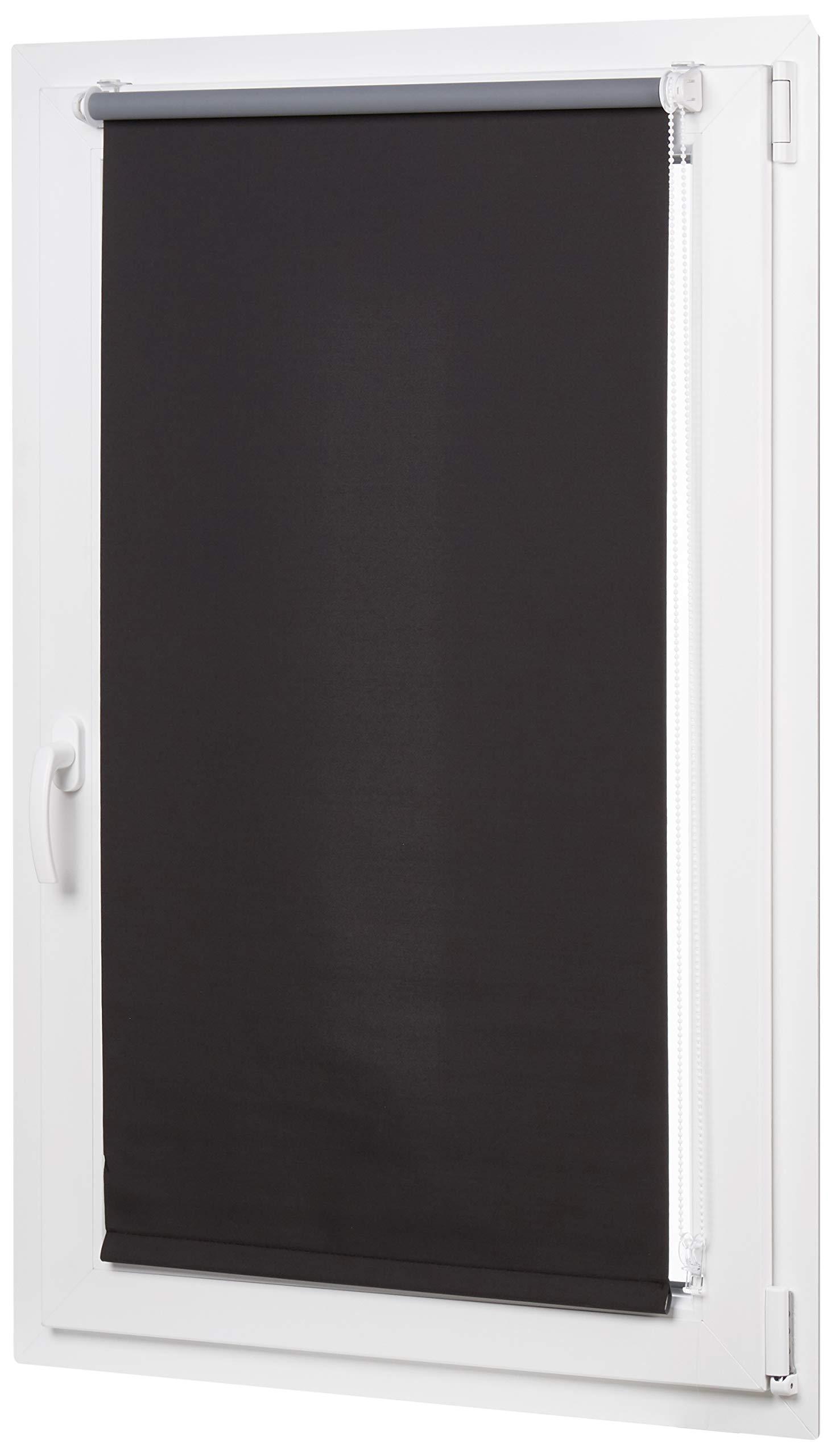 AmazonBasics - Estor opaco y enrollable, con revestimiento de color a juego, 66 x
