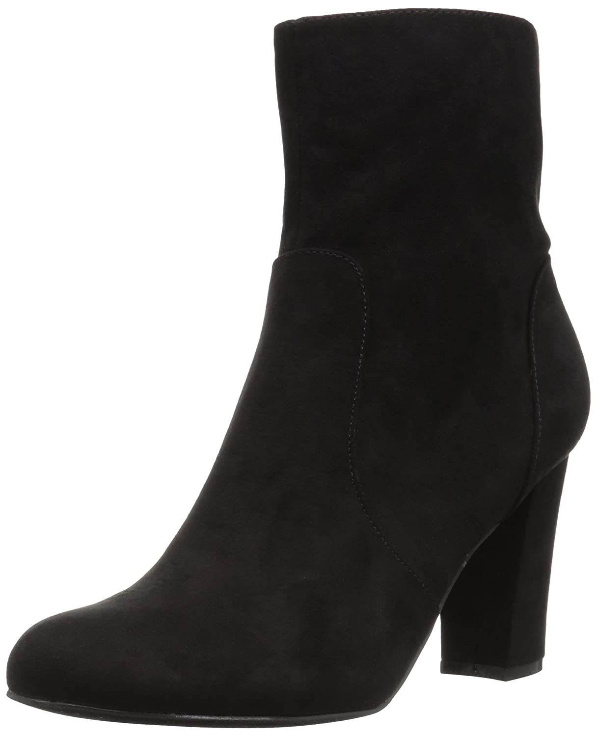 Madden Girl Women's Farrley Ankle Boot B005AVD6LY 9 B(M) US|Black Fabric