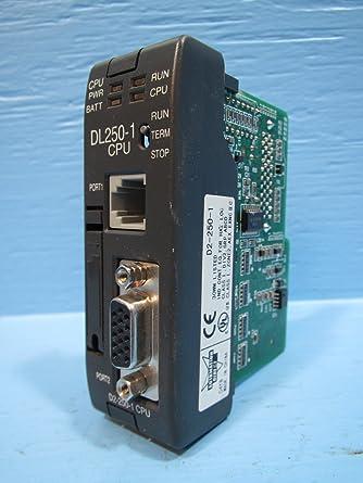 Automation Direct D2-250-1 CPU T122982: Amazon com