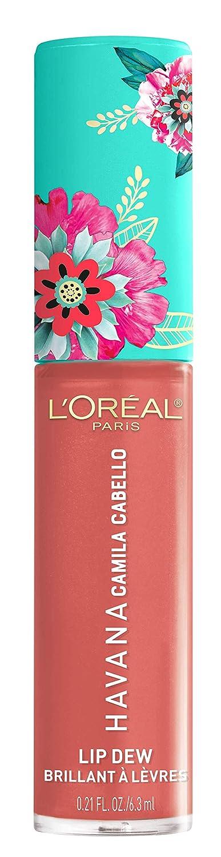 L'Oréal Paris Gloss Idratante Labbra, Havana Lip Dew Camila, Havana Camila Cabello Limited Edition, Finish Lucido L' Oréal Paris A97148