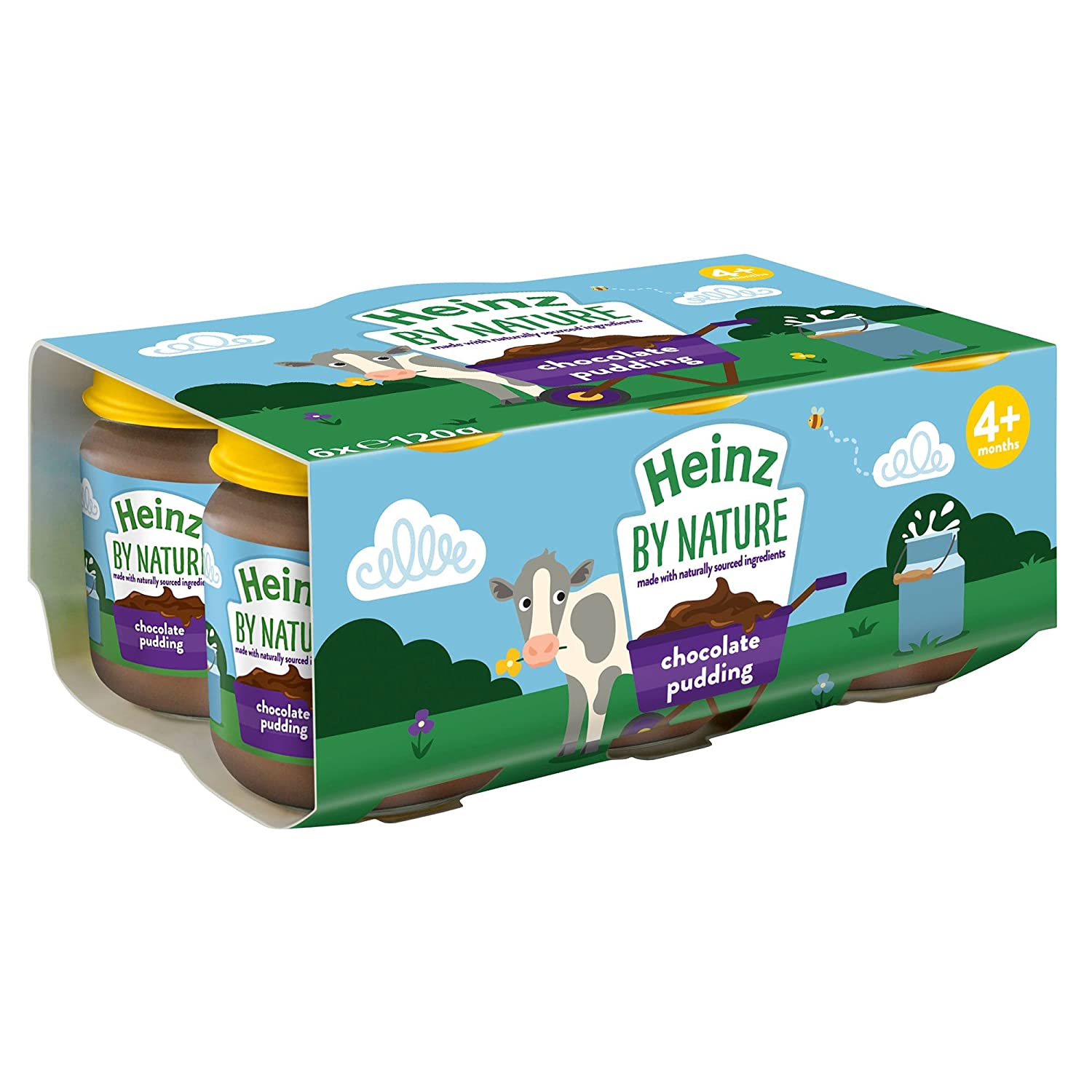 Heinz by Nature Chocolate Pudding - 24x120g