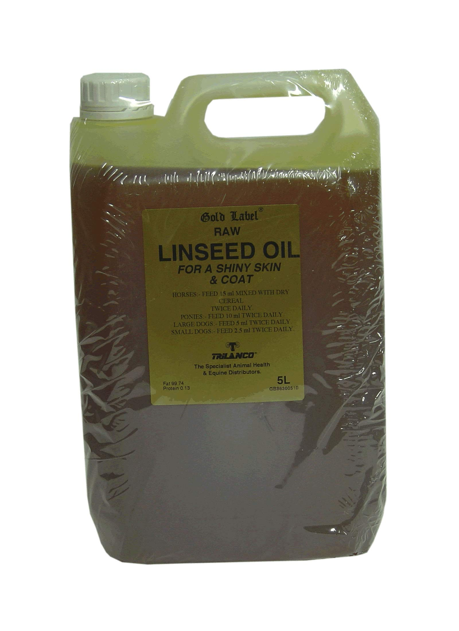 Gold Label - Linseed Oil: 5L