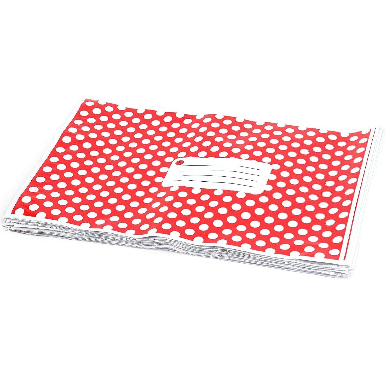 50 pz 22, 9 x 30, 5 cm 230 mm x 305 mm rosso a pois plastica Strong autosigillanti buste postale 9x 30 5cm 230mm x 305mm rosso a pois plastica Strong autosigillanti buste postale Surepromise