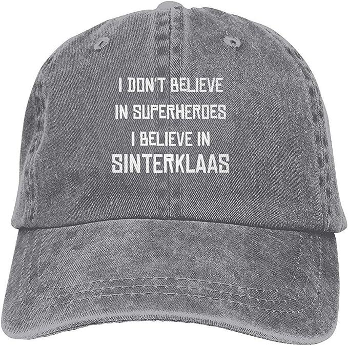 I Dont Believe in Superheroes I Believe in Sinterklaas Cowboy Cap ...