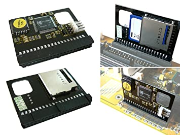 Tarjeta SD (Secure Digital) a IDE adaptador: 40 pin Hembra ...