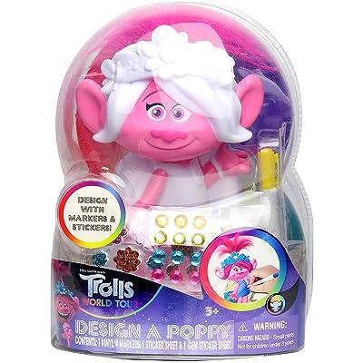 Tara Toys Trolls Design A Poppy: Toys & Games