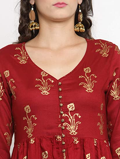 Designer Kurta Kurti Indian Ethnic Party Wear Women Dress