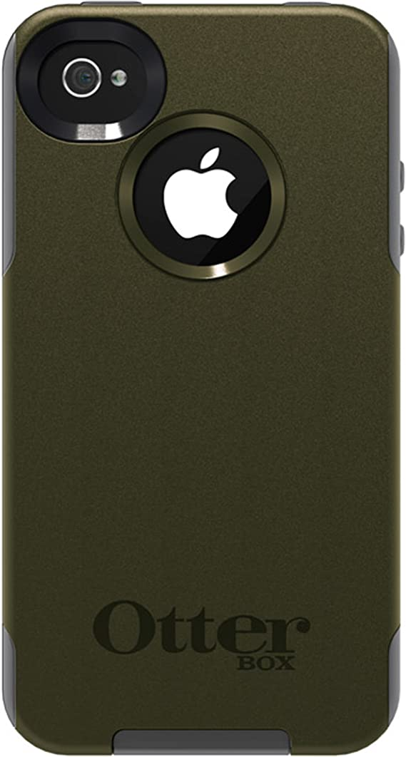 Otterbox Commuter Series Hybrid Case for iPhone 4 and 4S - 1 Pack - Retail Packaging - Envy Green/Gunmetal Grey