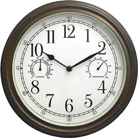 Amazon Com Westclox 33027 Wall Clock 12 Multicolor Home Kitchen