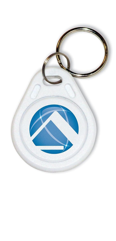 Pyramid TimeTrax42468 Proximity Key Fobs for PPDLAUBKN & TTPROXEK Time Clock Systems (5-Pack)
