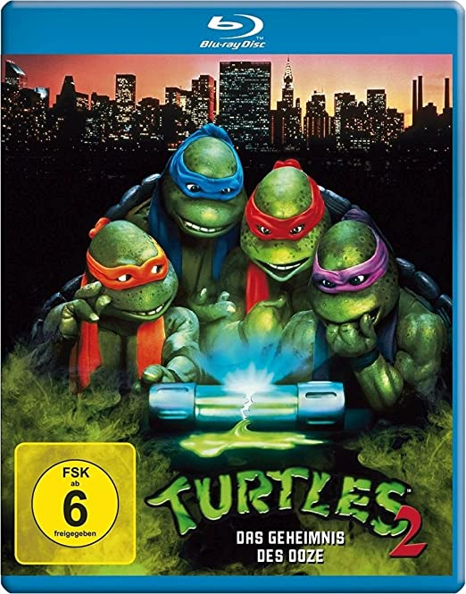 Turtles 2 - Das Geheimnis der Ooze Blu-ray Alemania: Amazon ...