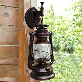 Baredury Vintage Lampe Chinoise Antique Lampe A Petrole Ancienne