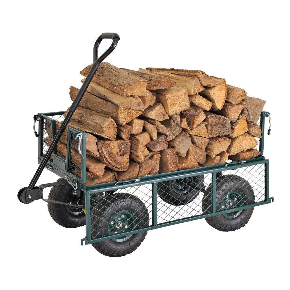 Sandusky Lee CW3418 Muscle Carts Steel Utility Garden Wagon, 400 lb. Load Capacity, 21-3/4'' Height x 34'' Length x 18'' Width by Sandusky (Image #5)