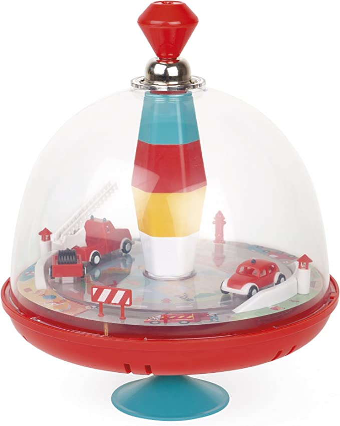 Peonzas Bolz 52532 peonza Pump Spinning Top,, 1,5 a/ño , Ni/ño//ni/ña, Disney, 130 mm s