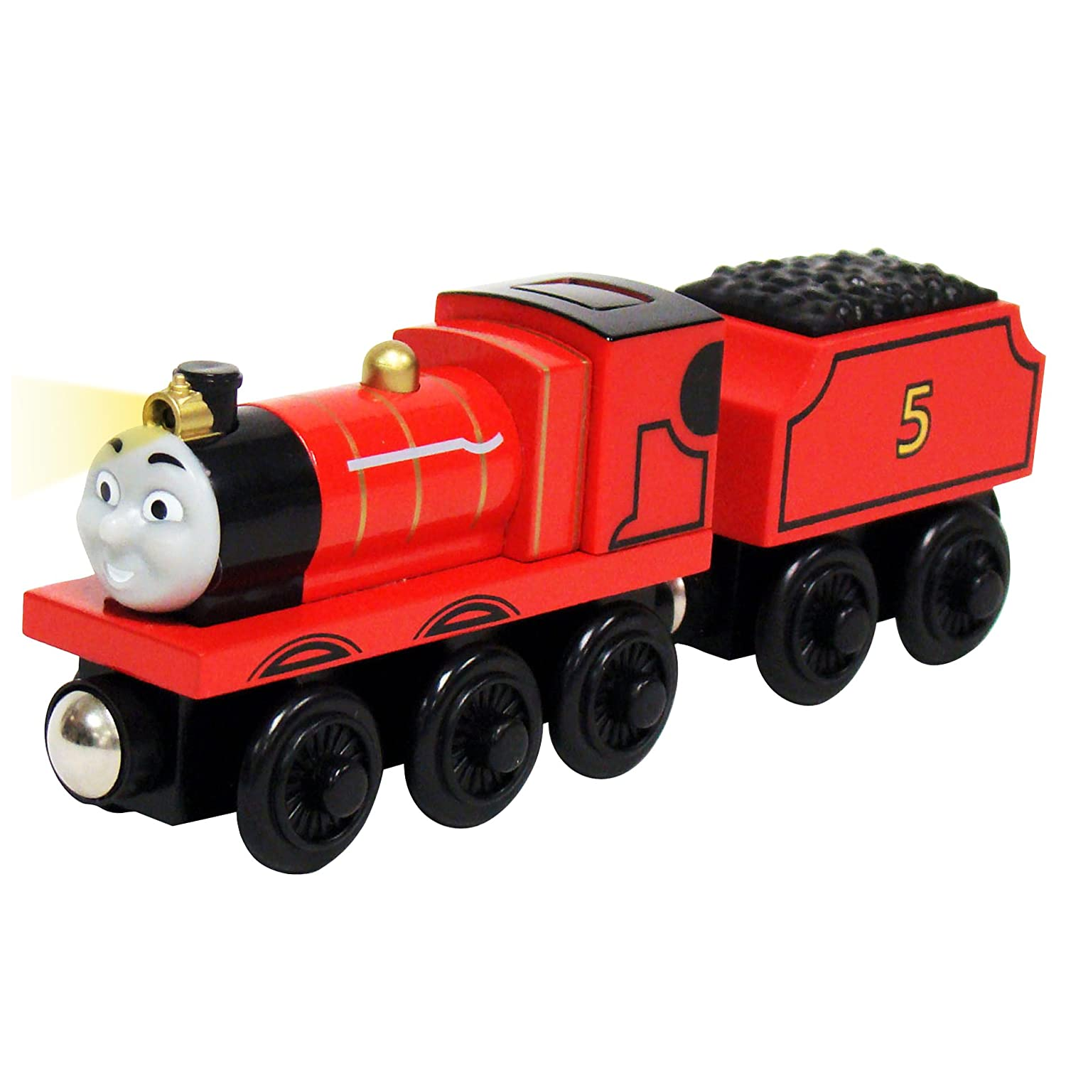 Uncategorized James Thomas And Friends amazon com thomas and friends wooden railway james lights the way toys games