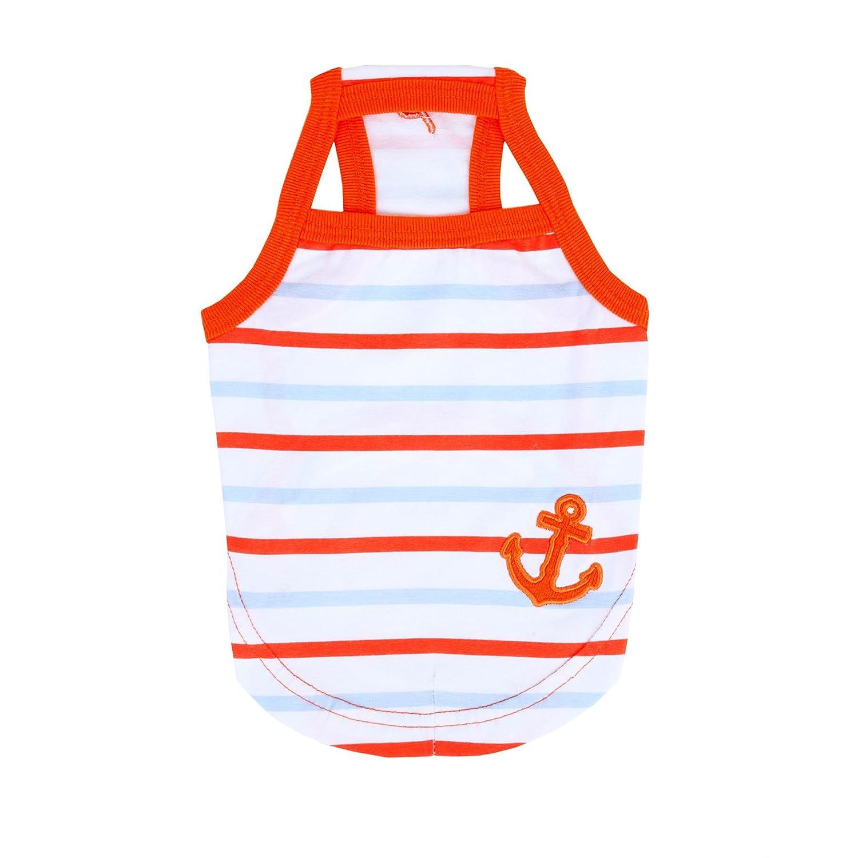 orange Large orange Large Puppia Moby Marine Tank Top, Large, orange