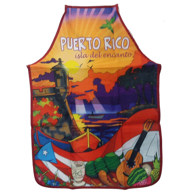Apron Morro Puerto Rico (Delantal Morro Puerto Rico)